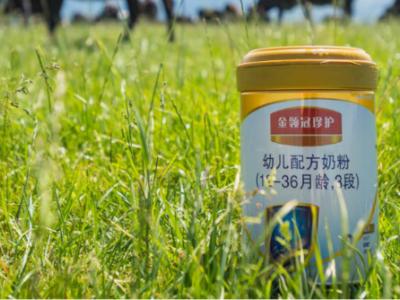 伊利金领冠引领中国奶粉迎来机遇