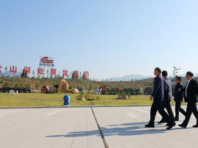 三明市委书记林兴禄一行莅临明一集团参观考察