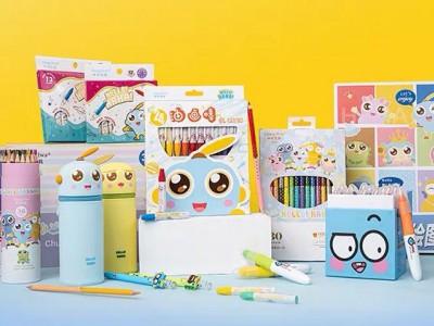 中华文具联名炫动卫视,儿童彩绘系列新品上市